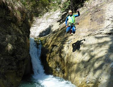 Canyoning 'Family World' Tour from 10 years on