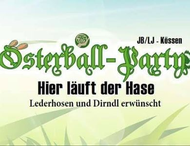Riesige Osterball-Party