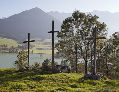 Guided village walking tour through Walchsee