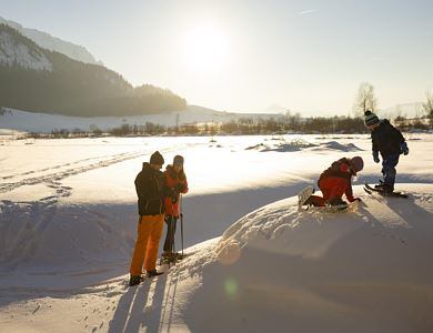 Guided Winter Hiking Tour