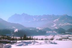 Panoramablick Winter