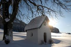 Winter Little Chapel