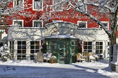 Cafe Praschberger im Winter
