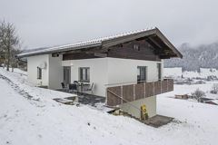 Chalet Strobl im Winter 1