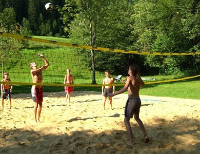 Beachvolleyball court Eurocamp