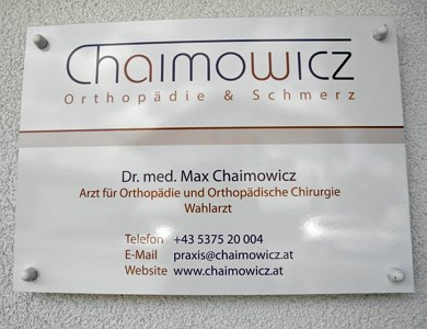 Dr. Chaimowicz in Kössen