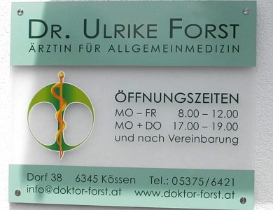 Doctor Forst in Kössen