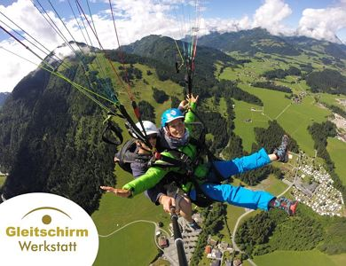 Paragliding repair service and Tandem flights