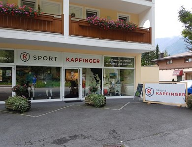 Sport Kapfinger - Rental of ski tour sets