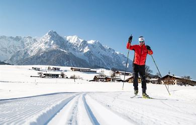Kaiserwinkl cross country skiing trial day 2019