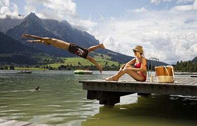Holiday on the lake Walchsee
