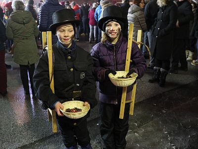 Kaiserwinkl, New Years Eve, Chimney Sweeps