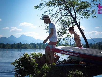 Kaiserwinkl, Walchsee, Stoabeatz, Musicfestival, Stand up Paddling