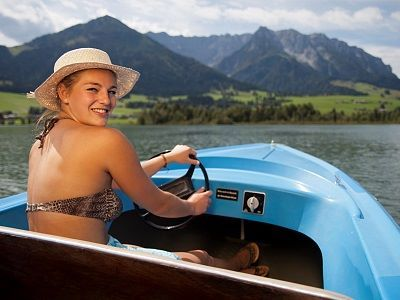 Electric boat rental - Lake Walchsee